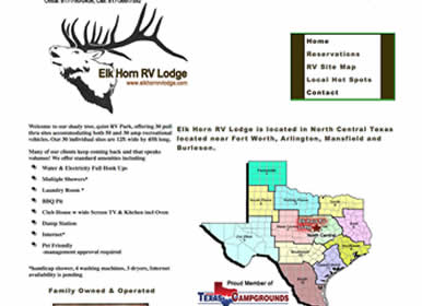 RV-Park-HwyI35-Burleson-Texas-Website Design by SimsSolutions