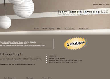 Realestate Web Design by Sims Solutions