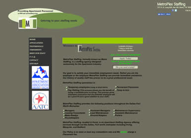 Staffing Agency Website by Sims Solutions | simssolutions.com
